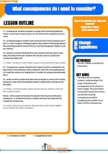 ipshe expeditions 7 Lesson Plans